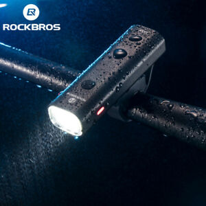 ROCKBROS Bicycle Head Front Light Waterproof Cycling USB Rechargeable LED Light