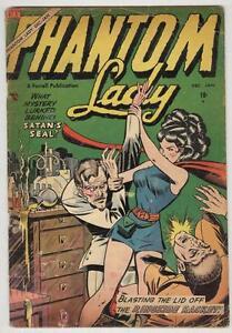 Phantom Lady #5 December 1954 G/VG 1st Ajax Issue