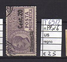 FRANCOBOLLI ITALIA REGNO USATI P.PN.N°6 (F6912)