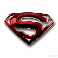 Superman Belt Buckle Usa Dc Comic American Superhero Movie Icon Mens Logo Rodeo