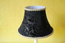 Lampenschirm  schwarz Velours 6