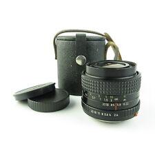 Für Praktica B Carl Zeiss Jena Prakticar 2.4/35mm MC Objektiv lens + caps