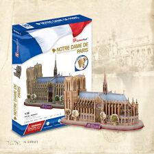 CubicFun 3D Puzzle Notre Dame De Paris (France) MC054h-2 128 pcs DIY Jigsaw