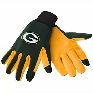 NFL Green Bay Packers Team Texting Technology Gloves