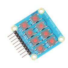 Matrix 8 Keypad Keyboard Board Module 8 Button Tactile Switch For Arduino Himjlu
