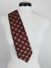 Mark Alexander Red Burgundy Men's Tie