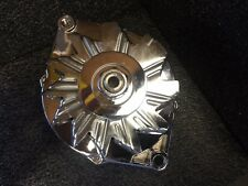 Chevy Alternator 200 AMP NEW 1 SINGLE ONE WIRE HIGH AMP Chrome