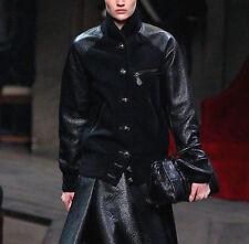 LOEWE by JW ANDERSON $4600 wool leather varsity baseball jacket bomber coat NEW