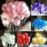 30 pcs 10 Inch Chrome Latex Helium Balloons Pearl Metallic Ballons Party Wedding