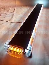 "55"" 104W LED WORK LIGHT BAR BEACON EMERGENCY FLASH WARNING STROBE AMBER&WHITE"