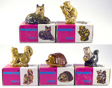 Wade Whimsies Set 5, Complete Set, 1974 All 5 Boxed
