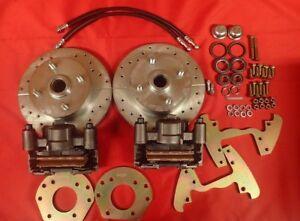 1960-1965 Ford Falcon front disc brake changeover 4 lug 6 cylinder spindle