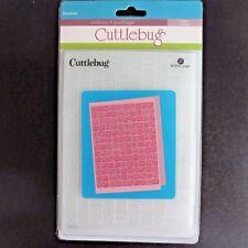 CUTTLEBUG  Provo Craft Dominos 5x7 Embossing Folder Games 2000206