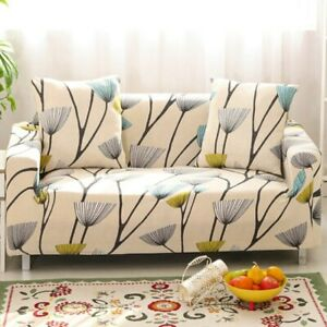 Elastic Sofa Cover with 1 FREE Pillow Cover