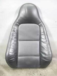 99-00 BMW Z3 E36/7 Roadster Right Front Passenger Seat Backrest Black Leather