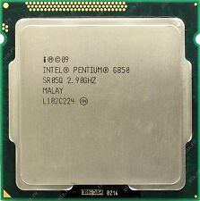 Processore CPU Intel Pentium G850 2.9Ghz 3Mo 5GT/s LGA1155 Dual Core SR05Q