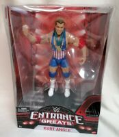 WWE - MIB WWE Mattel Entrance Greats Kurt Angle Wrestling Action Figure WWE WWF