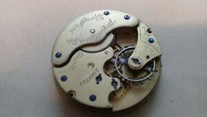 Illinois Grade: 111. Model 2 16s 11J Year 1890. Spares / Repair.  Read (TC504)