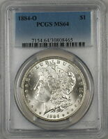 1884-O Morgan Silver Dollar $1 Coin PCGS MS-64 (7E)