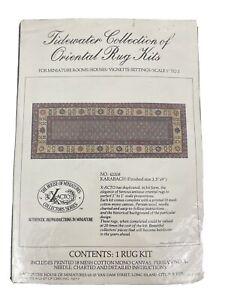 Dollhouse Carpet Rug Kit Tidewater Collection 42208 Karabagh Needlepoint