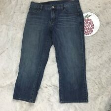 Lucky Brand Women's Classic Fit Crop Jeans Cotton Stretch Size 28