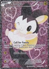 Pokemon Emolga EX Full Art Radiant Collection - Legendary Treasures RC23/RC25