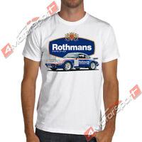 911 Turbo Rothmans Rally Racing Soft Cotton T-Shirt Ruf Group B WRC