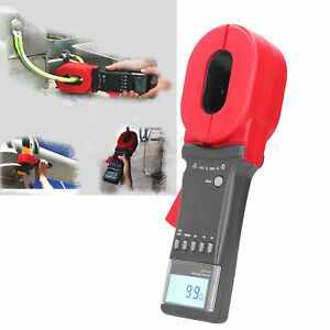 ETCR2000 0.01‑1200Ω LCD Digital Clamp Ground Earth Resistance Tester Meter