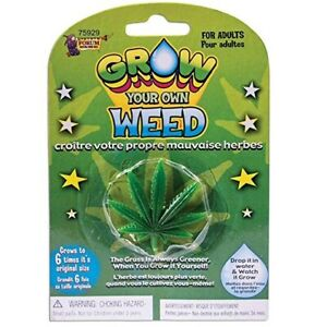 Grow Your Own Weed Marijuana Cannabis Drugs GaG Joke Funny Birthday Novelty