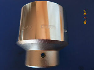"""2-5/8"""" Socket 1"""" Drive 12 Point Allen made USA #14244 New Old Stock Allen Tools"""