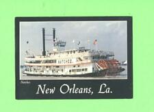 B POSTCARD THE STEAMBOAT NATCHEZ NEW ORLEANS LOUISIANA STEAMBOAT SHIP BOAT  CARD