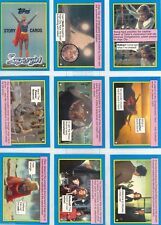 Supergirl Movie (Superman)  Complete Card SET (44) - 1984 Topps - NM