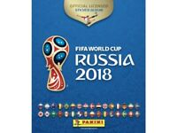 Panini 2018 FIFA World Cup Russia missing stickers from sticker album