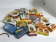 24 German Brands Mini Play Food Empty Boxes Pretend Grocery Germany