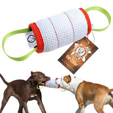 Jute Dog Bite Tug Chew Toys Builder Training Intermediate for K9 Boxer Pitbull
