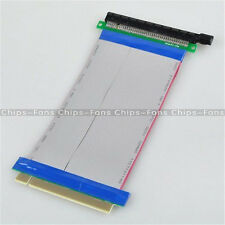 PCI-Express PCI-E 16X Riser Card Ribbon Extender Extension 20cm Cable