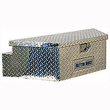 Better Built 66010148 Utility Trailer Tongue Tool Box Aluminum Diamond Plate