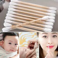 500Pcs Double Tipped Wattestäbchen Reinigung Wattestäbchen für Make-up