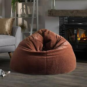 Bag Bean Cover soft Fur Attractive Sofa Chair Without Beans for a luxuries Home