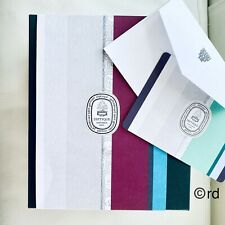 Diptyque Green Gift Box and Gift Message Card