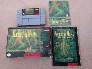 Secret of Mana - Super Nintendo SNES NTSC US version