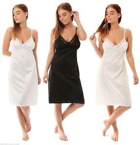 White Ivory Black Slips Petticoat Underskirt Plus size 12/28 Anit satic Garmet