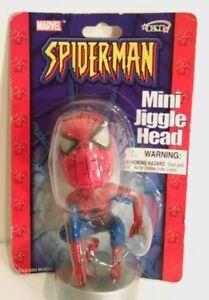 Spider-Man Mini Jiggle Head NEW MISB - 2003 Marvel