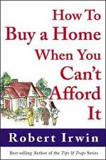 How to Buy a Home When You Can't Afford It pre owned