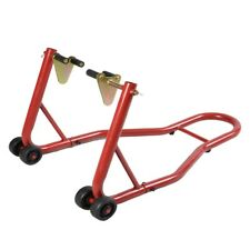 Forklift Motorcycle Stand Front Swingarm Lift Head Adjustable Arm And 4 Wheels