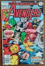THE AVENGERS 157, MARVEL COMICS, MARCH 1977, FN