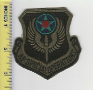 US Air Force Patch Air Force Special Operations