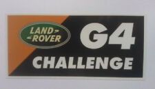 x1 New G4 Challenge Emblem Replaces OEM Land Rover Fender Trunk Tailgate Badge