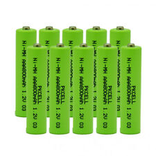 10PCS Home Phone Batteries Replacement AAA 800mAh 1.2V for HHR-4DPA HHR-65AAABU