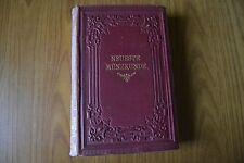 LIBRO MONETE ORO ARGENTO NEUESTE MUNZKUNDE GERMANIA LIPSIA 1853 RARISSIMO